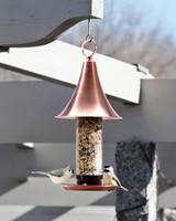 amazon garden copper hanging bird feeder