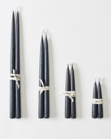 bundles of black candle sticks