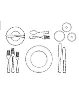 ml012p4_1200_fish_placesetting_illus.jpg  sc 1 st  Martha Stewart & How to Set a Formal Dinner Table | Martha Stewart