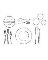 ml012p4_1200_fish_placesetting_illus.jpg  sc 1 st  Martha Stewart & How to Set a Formal Dinner Table | Martha Stewart