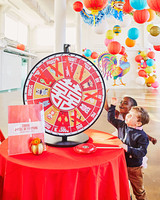 chinese new year party gift wheel