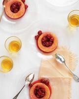 sour cherry savarins