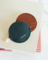sezane leather wallets