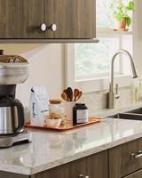 home depot quartz corian kitchen coffee service
