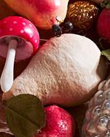 pressed-cotton pear ornament