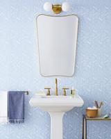 peel off wallpaper bathroom