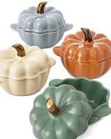 pumpkin cocotte set