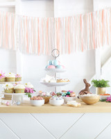 sugar and charm easter dessert bar
