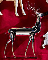 19th-century reindeer ornament