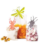 clothespin crafts treat bags bugs
