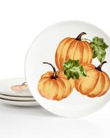 pumpkin harvest plates