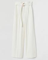 H&M Wide-leg Corduroy Pants