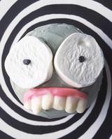creepcake cupcakes wax teeth