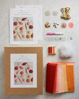 wool ornaments gift guide