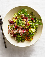 turkey-and-watercress salad
