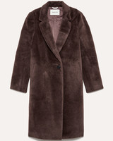 alpaca and wool womens coat