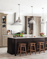 Delicieux Home Depot Gray Kitchen Island