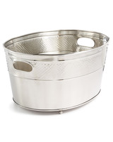 steel beverage tub macys