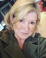 martha stewart selfie