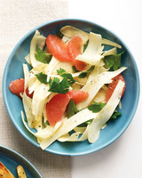 shaved parsnip salad grapefruit