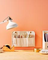 clutter control canvas grommets