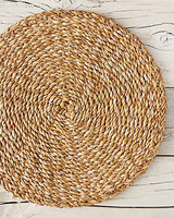 seagrass plate charger