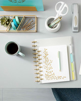 staples notebooks desk organization merch