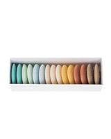 assorted color soaps in box