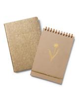 martha stewart natural notebooks