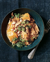 thai red curry with butternut squash