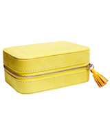 ann taylor lime gold jewelry box