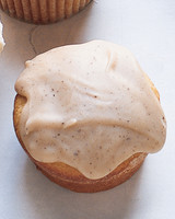 Brown-Sugar Pound Cupcakes with Brown-Butter Glaze