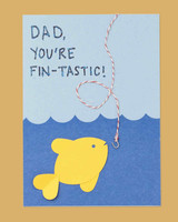 fish fathers day card