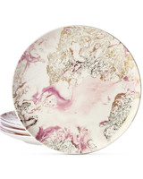 Martha Stewart Collection Harvest marbled salad plates