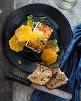 broiled feta oranges clementines