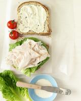 Turkey Caesar Sandwich
