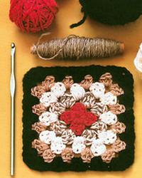 Crocheting a Granny Square