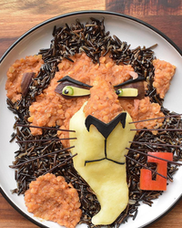 This Mom Makes Her Son the Most Creative Meals in the Shape of His Favorite Characters