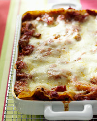 sausage and tomato lasagna