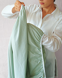 Fold a Fitted Sheet in 5 Steps