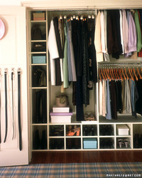 Organizing Closets and Drawers