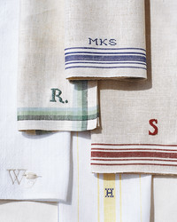 Tea-Towel Napkins