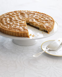 chocolate macadamia tart