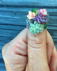 Succulent Nail Art: Would You Try This Growing Trend?
