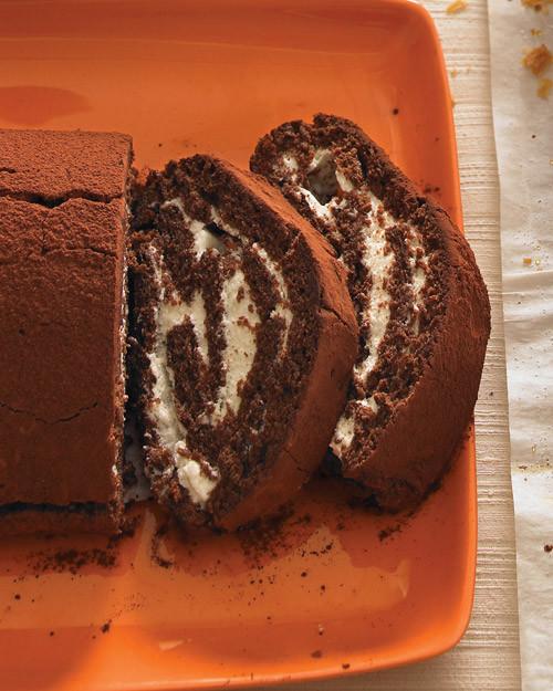 Martha stewart buche de noel cake