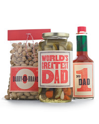 Retro Father's Day Clip-Art Labels