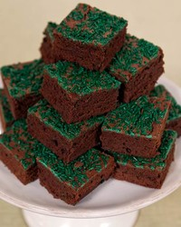 green brownies