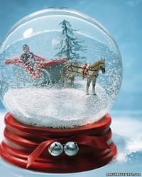 Sleigh-Ride Snow Globe