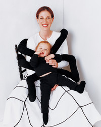 Spiderweb Mother and Sock Spider Baby Costume