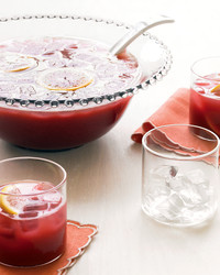 Holiday Citrus Punch drink